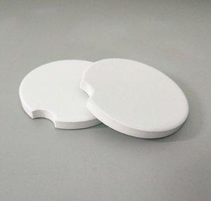 100pcs sublimazione della ceramica di automobili in bianco coasters 6.6 * 6,6 centimetri a caldo di trasferimento di stampa russe vuote di consumo materiali # 33512