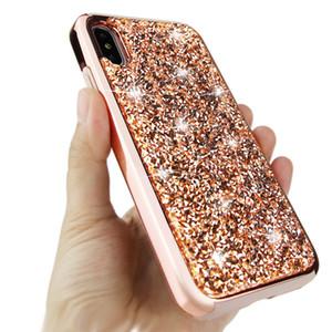 Bling 2 в 1 Роскошных Алмазном Rhinestone Блеск телефон чехол для iPhone 11 XR LG Stylo 4 5 G8 V50 K40 MOTO E6 G7 Мощность гибридного ударопрочного корпуса