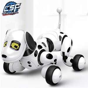 2020 New Remote Control Smart Robot Dog Programable 2.4G Wireless Kids Toy Intelligent Talking Robot Dog Electronic Pet kid Gift