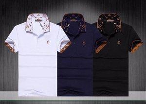 2020ss 남성복 디자이너 폴로 브랜드의 새로운 하이 스트리트 럭셔리 메두사 셔츠 패션 캐주얼 남성 폴로 고품질 OLO 티셔츠