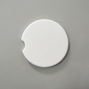 sublimazione della ceramica di automobili in bianco sottobicchieri 6.6 * 6.6cm di trasferimento a caldo di consumo di stampa russe vuote materiali SN1227