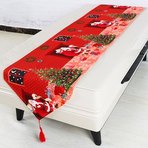Christmas Decorative Table Cloth Table Flag Home Party Decorative Tablecloth Dining Cover For Kitchen Home Decor