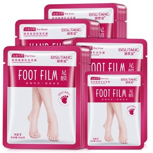 Soften cuticle Remove calluses mascarilla Moistening and Moisturizing Foot Mask Exfoliating scrub Hydrating Skin care Foot Film wholesale