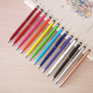 Creative 2 in 1 ballpoint pen Muti-fuction colorful touch screen ball pen for writing and CellPhone Tablet PC use DL_GBP003
