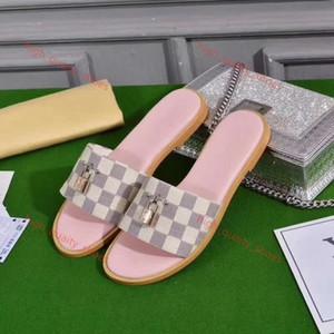 xshfbcl 2020 women summer slippers sandals luxe women massage slippers Lock beach shoes casual walking flat shoes 35-40