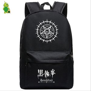 Anime Black Butler Sebastian Ciel Backpack for Teenagers Children School Bags Women Men Laptop Backpack Travel Shoulder Bags
