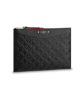 M62937 diario bolsa de cuero real de las mujeres carpeta larga cadena de los titulares de carpetas de la tarjeta monedero clave compacto tarde de los embragues