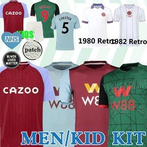 20 21 Aston Villa camisa de futebol 2019 camisa de futebol 2020 WESLEY Ghazi Grealish McGinn Targett Homens Crianças