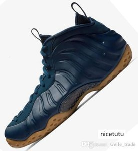 Penny Hardaway Mens Basketball Shoes Blue Men Sports Sneakers Designer Top Quality Trainers Foams Sports Basket Ball Chausseures