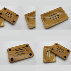 Bamboo Wooden Soap Dish Box Anti Skid Moisture Proof Soaps Holder Case Kitchen Bathroom Toilet Rack Simplify New Arrival 2 8qt B2