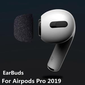 Haufen Kopfhörer Zubehör Ohrstöpsel Knospen für Airpods Pro 2019 Bluetooth drahtloser Kopfhörer-Replacement In-Ear-Pads für Air Schoten Pro Speicher ...