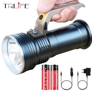 Super Long диапазоне Портативный Прожектор светодиодный фонарик R5 LED водонепроницаемый перезаряжаемый Рыбалка Кемпинг свет СИД для путешествий Y200727