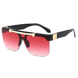 New Top quality Men Sports Sunglasses for Women Fashion Vassl Sun glasses Gold Metal Frame Medusa Colorful 54mm lens