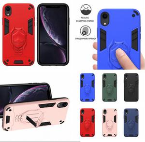 Iron Man Доспех Kickstand чехол для Iphone SE2 SE 2020 7 8 PLUS 11 PRO MAX X XS XR Hard Hybrid противоударный телефон задней стороны обложки Luxury