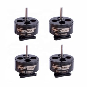 RC Drone Multicopter Part Accessories,0802 16000KV Mini Brushless Motor 1-2S for Mobula7 Snapper7 Bwhoop75 75mm