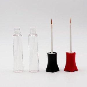 new 10ML small waist bottle double eyelid false eyelash glue bottle eyeliner bottle