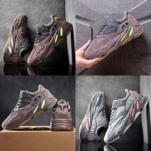 Skate zapatos para el cabrito White Girl running niños zapatillas de deporte Boy Negro de piel Kanye West Kanye West 700 700 Zapatos de bebé de cumpleaños # 674