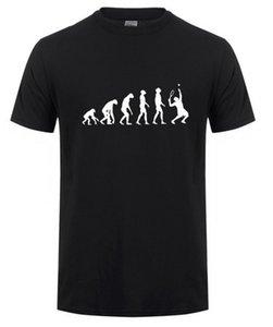 Vhorz Evolution de T-shirt Hommes Coton Summer Style Hommes T-shirts Top T-shirts manches courtes Livraison gratuite