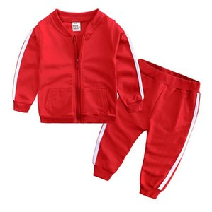 Factory direct selling boys and girls spring and autumn leisure sports fashion coat best-selling pants two sets of children's clothing