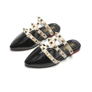 Children Sandals girls 2020 summer Roman rivet princess Shoes little girls shoes slippers outdoor fashion Kids sandals flat Y200619