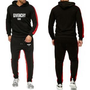 плюс размер женщин sweatsuits Tracksuit Мужские толстовки брюки Мужская одежда Толстовка Пуловер мужской Casual теннис Спортивные костюмы дизайнера набор