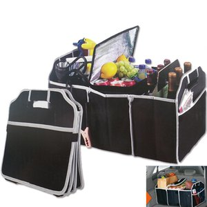 New Car Trunk Organizer Car Toys Food Storage Container Bags Box Toys Food Stuff Storage Container Bags Auto Accessories Case Gifts HH7-472