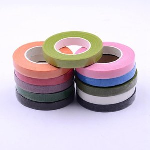 25Meter Paper Garland Glue Tape Artificial Flower Fixed For Wedding party Decoration DIY Wreath Flores Garland Supplies Tape