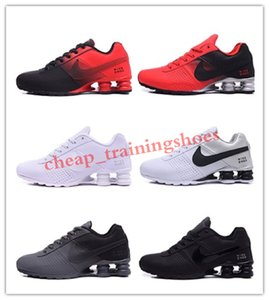 2020 new men avenue SHOX 802 809 turb black white red man tennis running shoe fashion mens sports designers sport sneakers 40-46 TO04