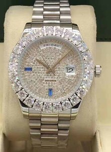 Luxury Watch 44mm Diamond Watch. Mechanical Diamond Dial 2020 Automatic Sports Outer Ring Calendar Steel Presidential 316 New Deqbu