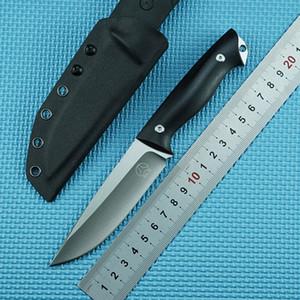 BOLTE de haute qualité 14C28 lame à lame fixe couteau de chasse gaine KYDEX poignée G10 droite camping en plein air outil de coupe EDC