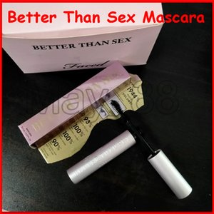Top Quallity! 2020 New Face Cosmetic Better Than Sex Mascara Black Color long lasting Eye Makeup Volume 8ml Masacara DHL fast shipping