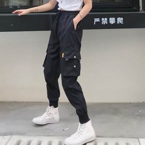 Jogger Pants Womens Designer Pants with Big Pockets High Waist Casual Clothing Loose Trousers Tactical Hip Hop Pant High Quality Trousers
