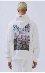 가을 겨울 새로운 연인 전체 지퍼 카디건 카모 인쇄 Ooded 스웨터 남성면 고등학교 품질 사막 카모 테리 느슨한 Oodies # 622