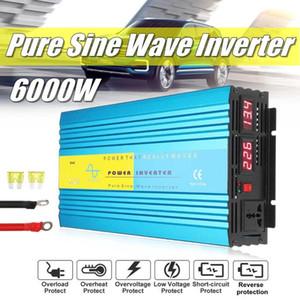 3000W DC 24V zu Wechselstrom 110V vom reinen Sinus-Wellen-Inverter Sonnensystem 24V bis 110V Solar Power Inverter