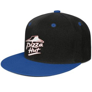 Pizza Hut logo red white design Unisex Flat Brim Baseball Cap Blank Running Trucker Hats Flash gold order pizza online Logo Pink