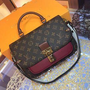 Vintage Style High Quality Womens Designer Luxury Leather Shoulder Small Flap Crossbody Bag Top Handle Totes Bolsas Messenger Bag Handbags