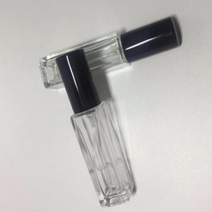 100pcs lot 10ml glass perfume bottle Portable Travel Perfume Atomizer Spray Bottle Cosmetic Container wwith DHL