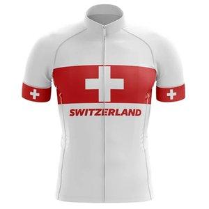 2021 Suíça Ciclismo Jersey Manga Curta Montanha Ciclismo Jersey, Motocicleta Ciclismo MTB Roupas C505