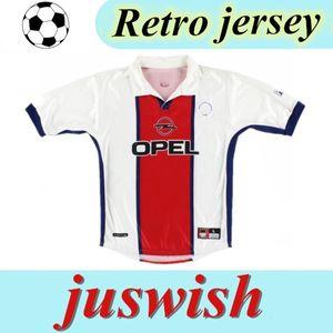 98 99 FRANCE Retro soccer Jersey WORNS SIMONE OKOCHA LEROY AVELAINE ADAILTON 1998 1999 Paris RAI classic paris camisas de futebol