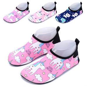 Zale sandalet ve tek boynuzlu at yüzme sığ çocuk ayakkabıları çocuk ayakkabıları yürüyüş kızlar