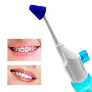 2 pz Ugelli Portatile Irrigatore orale Pressione Dental Water Jet Jet Flosser Irrigatori nasali Irrigatori A bocca Dentale Denti Depuratore 180ml