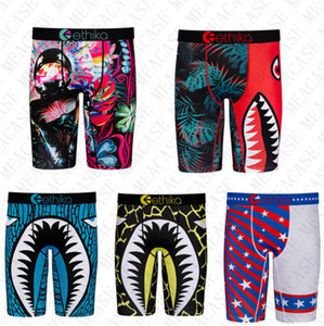 Mens Underwear s Boxer Swimwear Summer Beach Shorts pants quick dry Shark printing sand sports shorts boxer underwear beachwear D72707