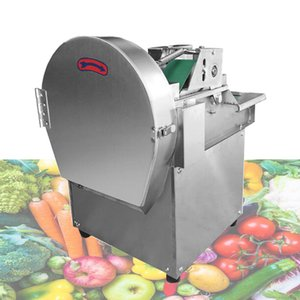 Commercial multi-function electric Vegetable cutting machine potato shredded dicing machine Lemon slice Cheese cheese grater 110V 220V