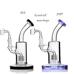 Stereo Matrix perc 14mm banger heady glass oil rigs smoke pipe think glass water bongs chicha hookahs shisha