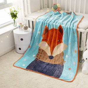 Childrens' Blanket Cartoon Coral Fleece throw Blankets Bedding Sofa Air Condition Bedspreads Airline Rug Kids Bath Towel Nap Blankets 010