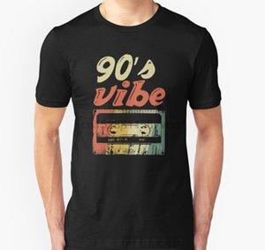 Hombres camiseta 90s 90s Vibe impresión del producto T retro unisex camiseta impresa camiseta de tes superior