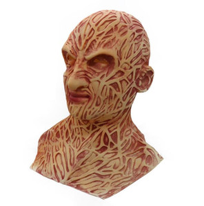 New Halloween Jason Freddy Freddy Freddy Kopfbedeckungen Handschuhe Maske Horror Latex Geistermaske GD465
