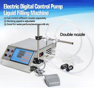 Elektrisch Digital Control Pump flüssige Füllmaschine 0.5-4000ml für flüssiges Parfüm Wasser-Saft-Ätherisches Öl