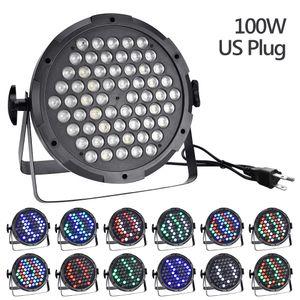 LED luce della fase 100W alta potenza lampadine luce di inondazione esterna della luce per il partito, KTV, lampada Wedding Fixture