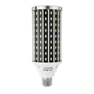 Вентилятор охлаждения LED Corn Light Bulb AC100-277V E27 50W 2835 Без лампы Обложка для крытого украшения дома Droplight Street Spotlight MS011